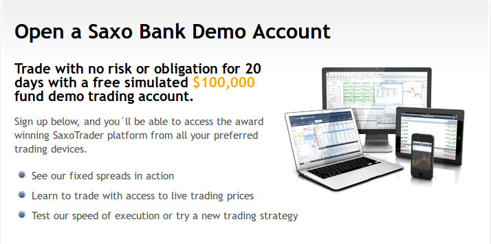 Saxo bank forex demo