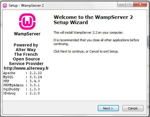 Wamp 64bit-PHP5.4- 2.2E-B