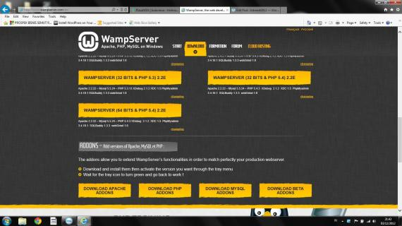 Wamp 64bit-PHP5.4- 2.2E