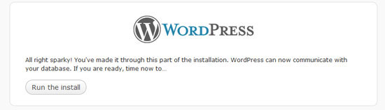 WordPress_runtheinstall