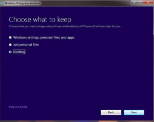 Windows8Upgrade-Pilih-Nothing