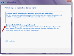 Windows_8_custom_Custom install