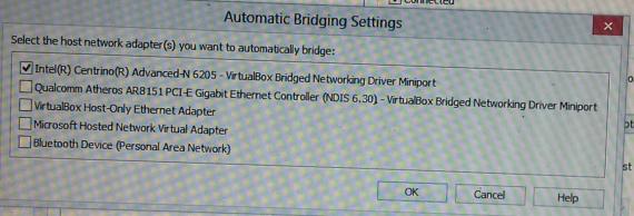 BridgingSetting