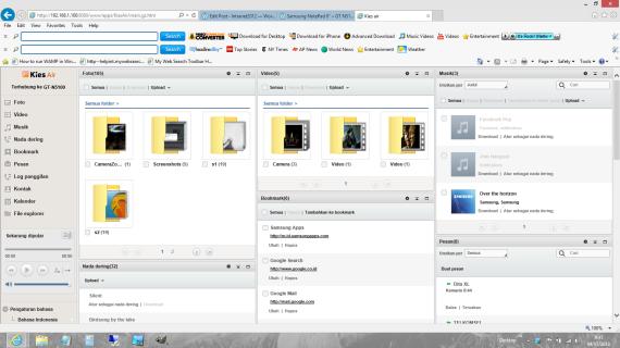 Pilih gambar dari folder
