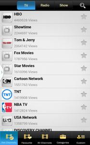 USTV-channels