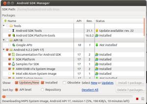 Android SDK Manger2b