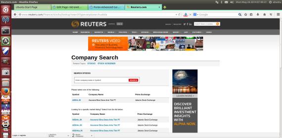Reuter-stock