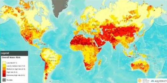 Dunia-Daerah kering