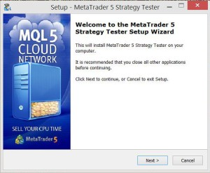 MQL5 Strategi tester